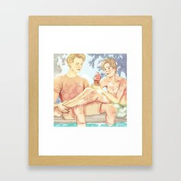 Even+Isak x Summer Framed Art Print