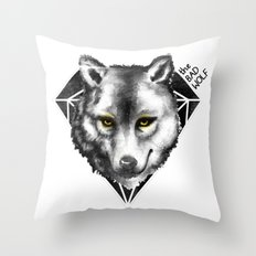 The Bad Wolf Throw Pillow