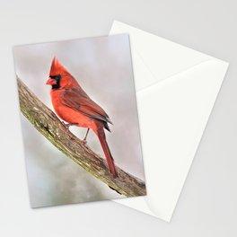 Simplicity: Northern Cardinal Stationery Cards