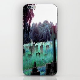 Meet You At The Cemetery Gates iPhone Skin