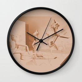 Retrò Contemporary Mannequin  Wall Clock