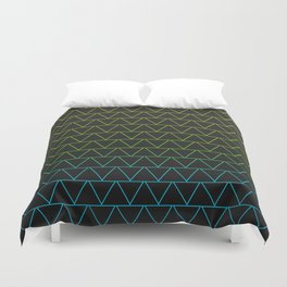 Neon Lights Duvet Cover