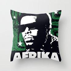 The Mighty Souls: Afrika Bambaataa Throw Pillow