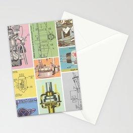 Magical Mechanics Stationery Cards
