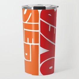 Underslept and Overcoffeed Travel Mug