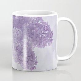 First Love - Pastel Purple Lilac Floral Decor Coffee Mug