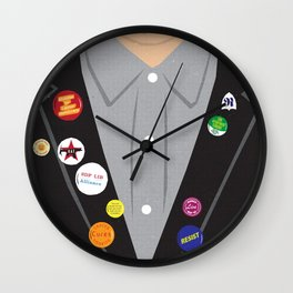 The Young Ones Poster Series :: Rick Wall Clock