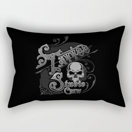 Vintage Skull Tattoo Studio Designs By InkedStar Rectangular Pillow