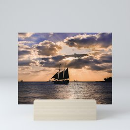 Sunset in Key West, Florida Mini Art Print