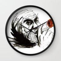 cigarette Wall Clocks featuring Cigarette by Anna Pietrawska