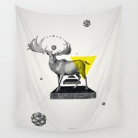 psychology Wall Tapestries featuring Archetypes Series: Dignity by Attitude Creative