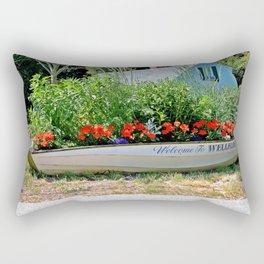 A Welcome Sight Rectangular Pillow