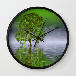 evening time somewhere -1- Wall Clock