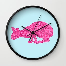 Pink Tammy Wall Clock