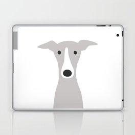 Cute Greyhound / Italian Greyhound Laptop & iPad Skin
