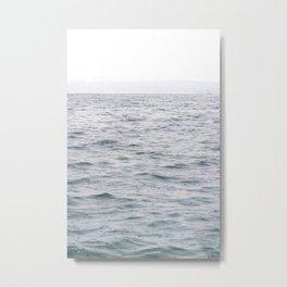 Raining Grays Metal Print