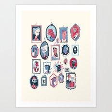 Hang ups Art Print