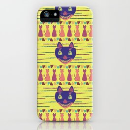 Madcat Excited iPhone Case