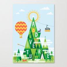 Adventure Mountain Canvas Print