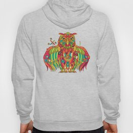 Owl, cool art from the AlphaPod Collection Hoody