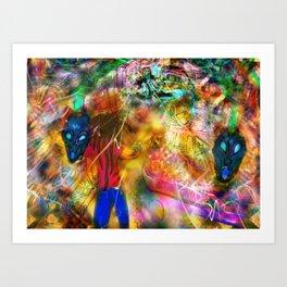 Interdimensional Exploration Art Print