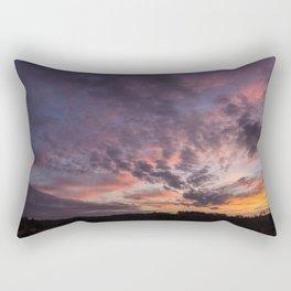 The Sunsets Glow Rectangular Pillow
