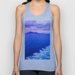 Aegean sea Unisex Tank Top