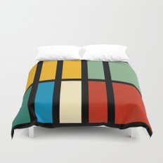 Abstract composition 23 Duvet Cover