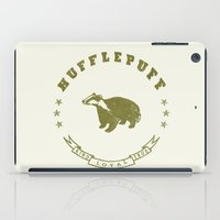 hufflepuff iPad Cases featuring Hufflepuff House by Shelby Ticsay