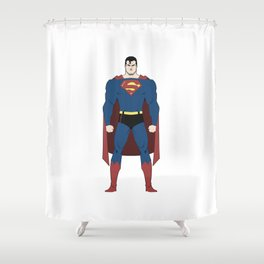Man of Steel Shower Curtain