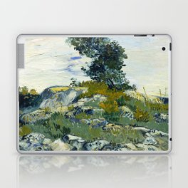 The Rocks by Vincent van Gogh Laptop & iPad Skin