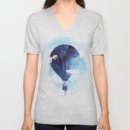 Bye Bye Balloon Unisex V-Neck