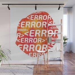 ERROR Wall Mural