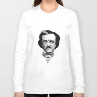 poe Long Sleeve T-shirts featuring Poe by Brandi St. Romain