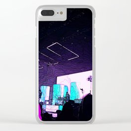 """Musically Inclined"" Clear iPhone Case"