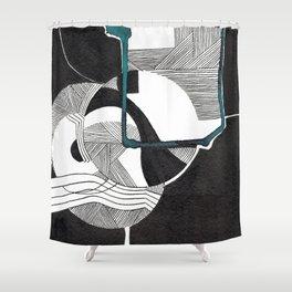 Intersection des mondes Shower Curtain