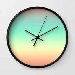 Summer Light Wall Clock