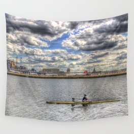 London city Airport Wall Tapestry