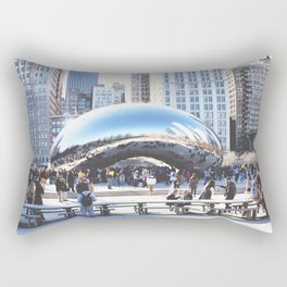 Chicago in Spring, March 22nd-24th, 2019. XXXV Rectangular Pillow