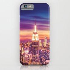 New York City Dusk Sunset Slim Case iPhone 6s
