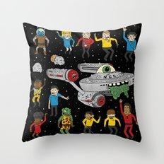Star Trek The Reanimated Series Throw Pillow