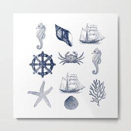 Marine Life 5 Metal Print