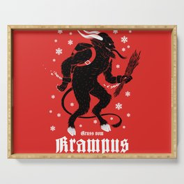 Krampus Serving Tray