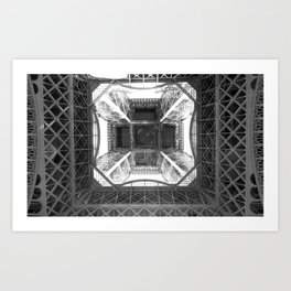 Belly of the Beast: B&W Paris Collection #1 Art Print