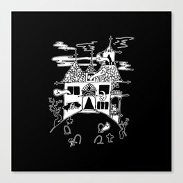 ▴ haunted house ▴ Canvas Print