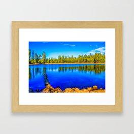 Reflection Lake Framed Art Print