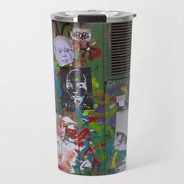 Graffiti Amor Travel Mug