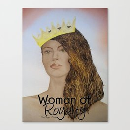Woman of Royalty Canvas Print