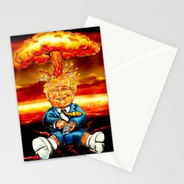 Trump bomb Stationery Cards