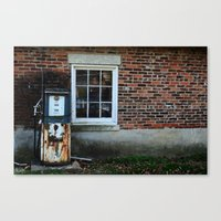 pocket fuel Canvas Prints featuring Fuel by 100 Watt Photography